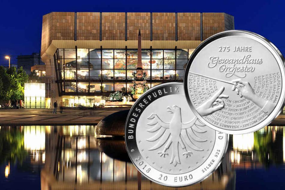 Happy Birthday, Gewandhausorchester! Liebhaber können sich bald eine von 125.000 Gedenkmünzen sichern.