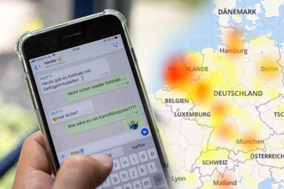 WhatsApp down: Störung beim Messenger-Dienst