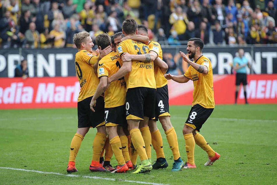 Dynamo kann auch gegen Heidenheim auf die Stuttgart-Bezwinger zurückgreifen.