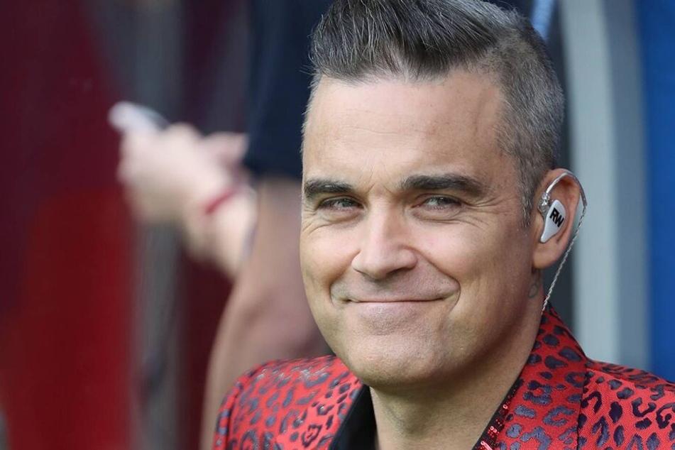 Robbie Williams (45) ist wieder ganz der Alte. Auch dank der Reunion mit seinen ehemaligen Bandkollegen von Take That, wie er sagt.