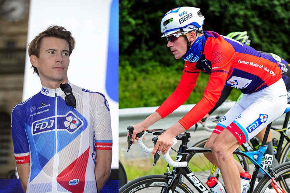 Der französische Radprofi Yoann Offredo wurde bei einer Trainingsfahrt attackiert.