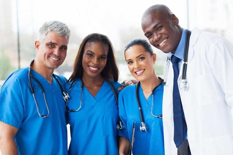 2700 Ärzte aus 98 Ländern arbeiten in Sachsen (Symbolbild).