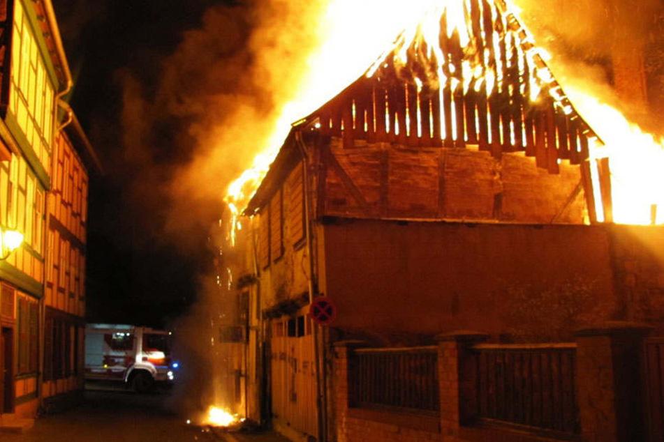 Hat die Brandserie in Wittenberge nun ein Ende? (Symbolbild)