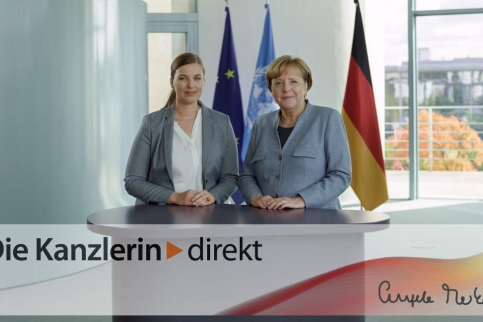 Franziska Knur (30) von der TU Dresden befragte Bundeskanzlerin Angela Merkel  (63, CDU).