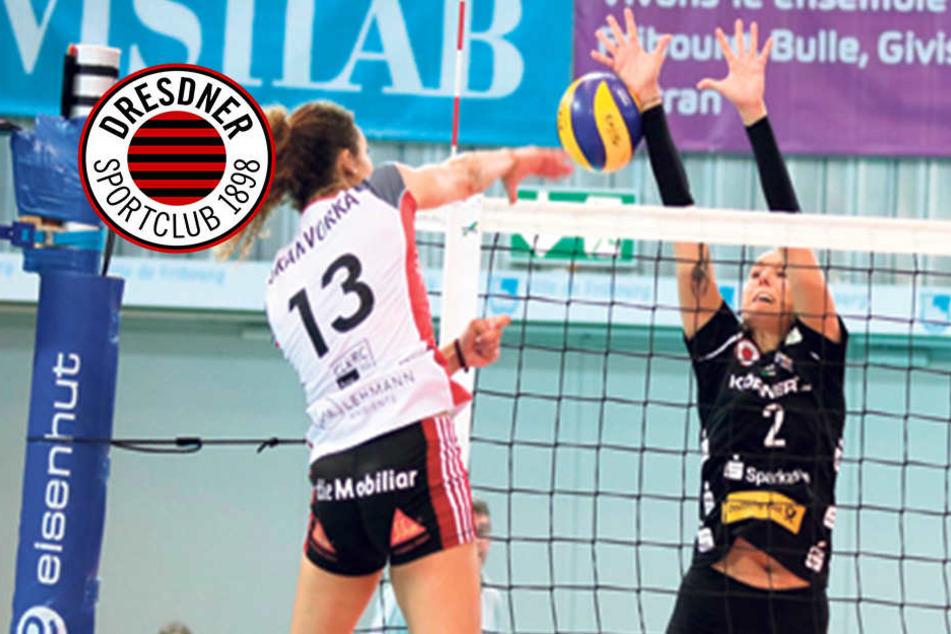 DSC-Mädels schmettern sich in Freiburg zum klaren Sieg