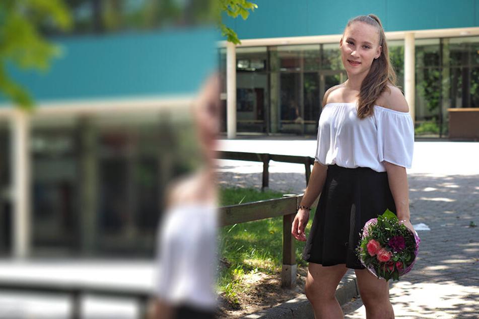 Mandy Hoffmann hat ihr Abitur in der Tasche. Und das mit nur 14 Jahren!