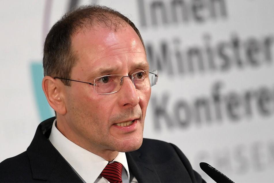 Ex-Innenminister Markus Ulbig (55, CDU).