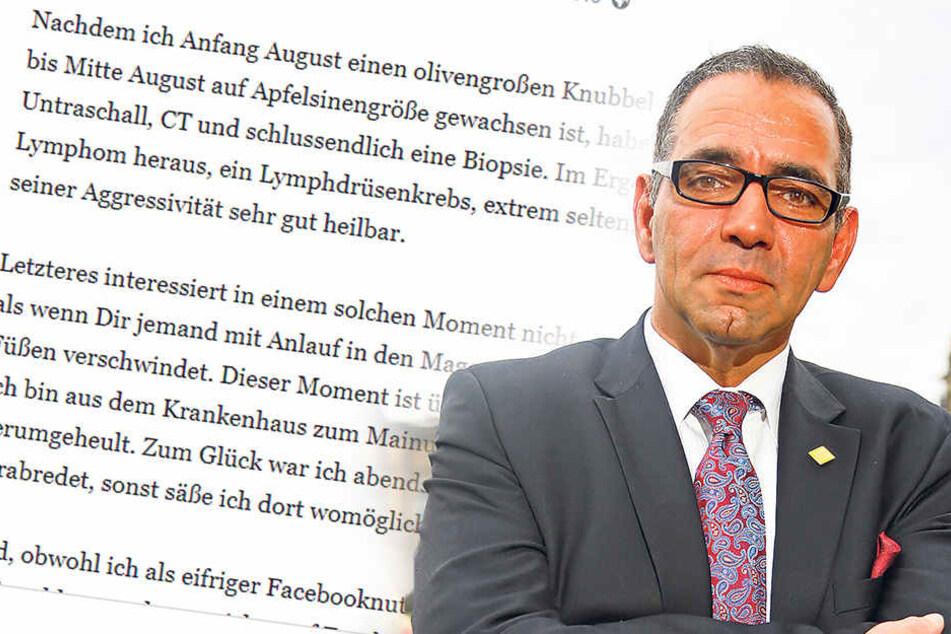 Schock-Nachricht auf Facebook: Große Sorgen um Johannes Lohmeyer