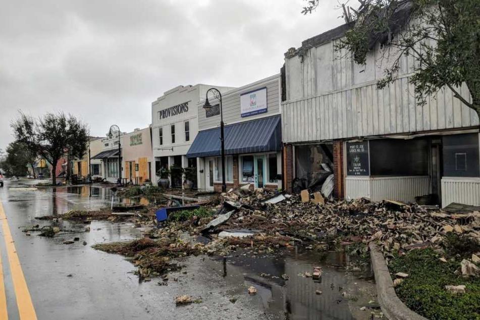 Der Hurrikan zerstörte ganze Häuser.