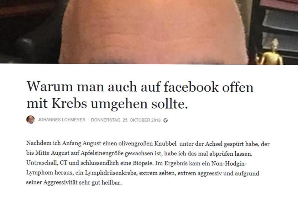 Das schrieb der Ex-FDP-Chef auf Facebook.