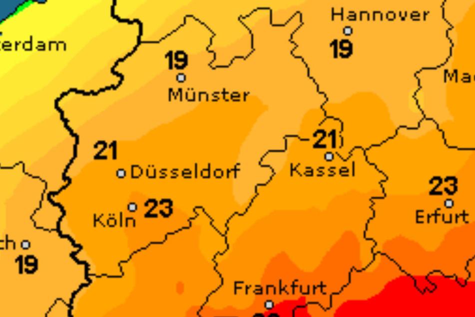 Wetter in NRW Aprilwetter mit Schauern, Sonne und Gewittern am Wochenende