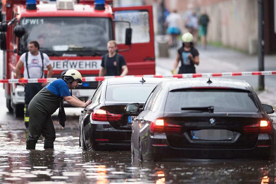 So heftig war das Unwetter in Köln