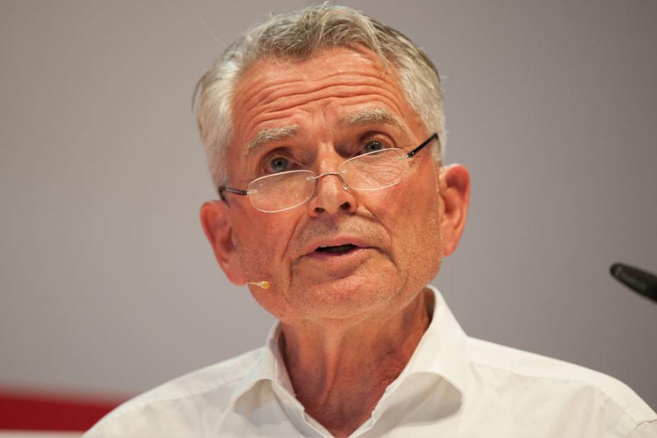 """Für Präsident Wolfgang Dietrich ist nach schweren Jahren klar: """"Der VfB ist wieder da""""."""