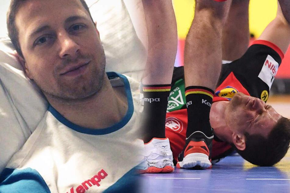Handball-WM: Emotionale Botschaft! Verletzter Martin Strobel meldet sich aus Krankenhaus