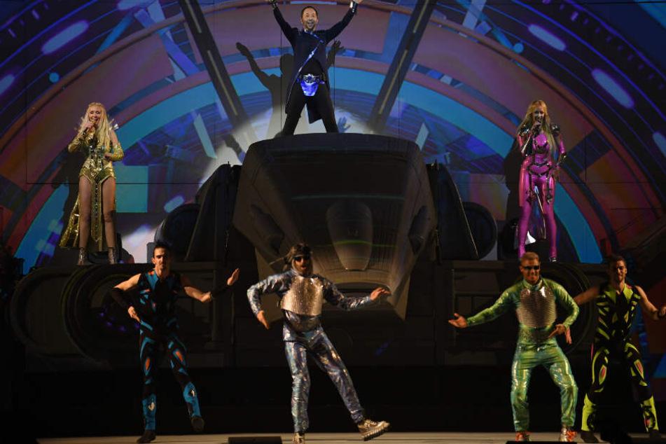 Den Auftritt verfolgten rund 2000 Zuschauer am Freitag im Europark Rust.