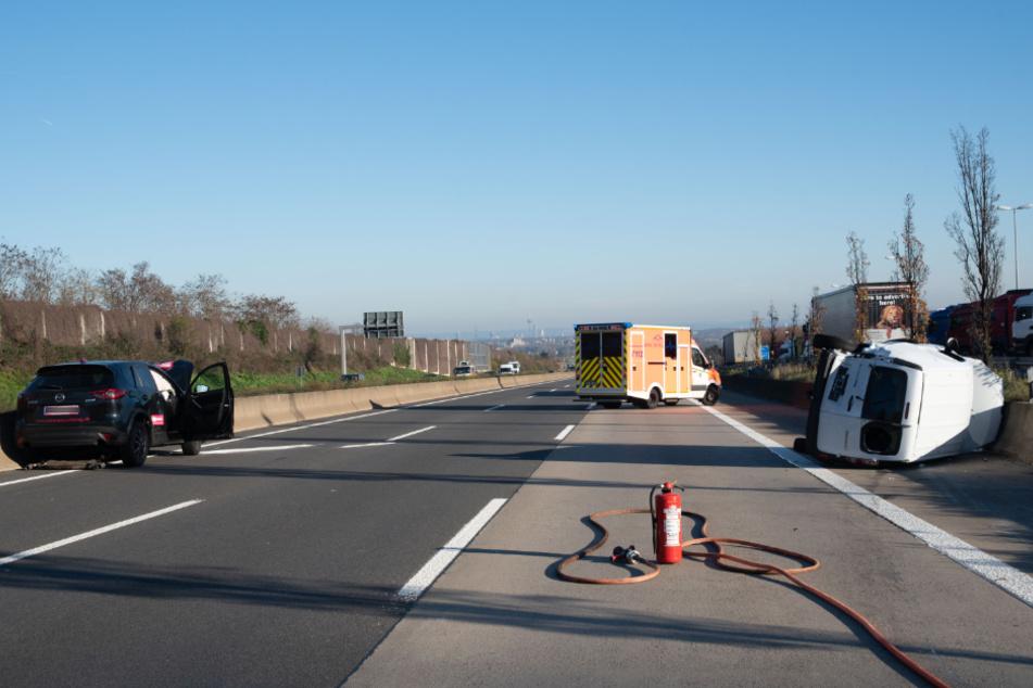 Schlimmer Crash: Mehrere Verletzte nach zwei Unfällen auf A4