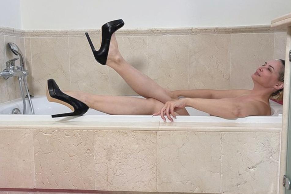 Milf badewanne