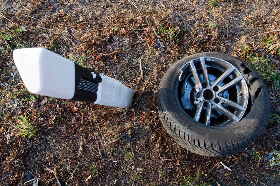 Schwer verletzter Mann liegt im Straßengraben: Winterdienst findet zufällig Opfer nach Autounfall
