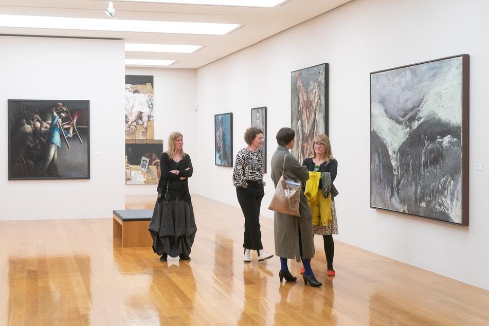 Nutzt die freien Tage während der Corona-Krise doch einfach mal für einen virtuellen Rundgang durch eines der Museen in der Landeshauptstadt, beispielsweise die Städtische Galerie Dresden (Foto).