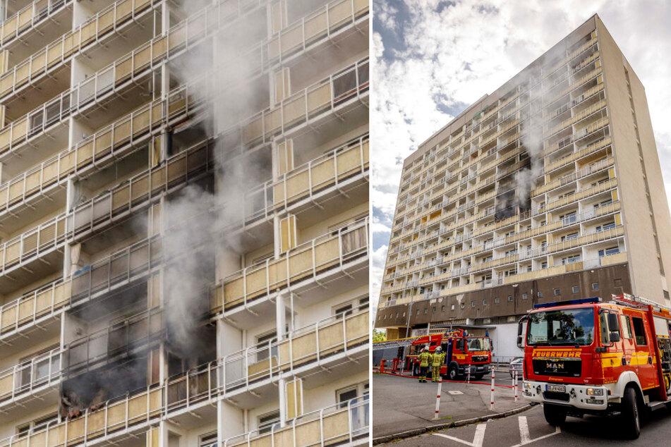 2017 brannte es in dem Hochhaus. Ein Jahr später mussten die letzten Mieter raus.