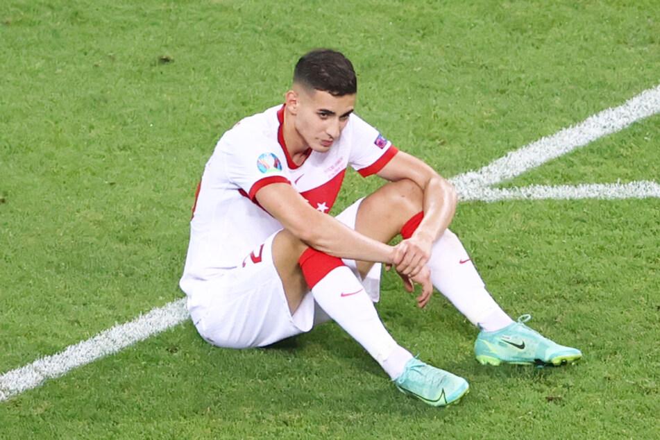 Für Mert Müldür (22) und die türkische Nationalmannschaft war bei der EM bereits in der Vorrunde Endstation.