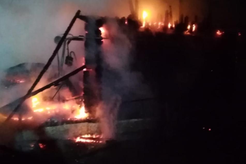 Das Pflegeheim brannte lichterloh, elf Menschen starben.