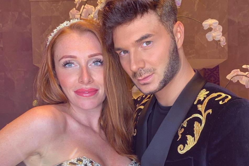 Georgina und ihr Kumpel Sam waren zunächst gemeinsam in Dubai.