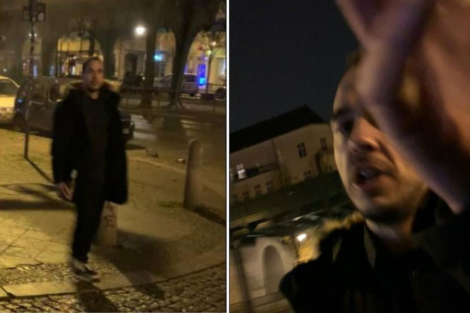 Mercedes in Silvesternacht angezündet: Polizei sucht diesen Mann