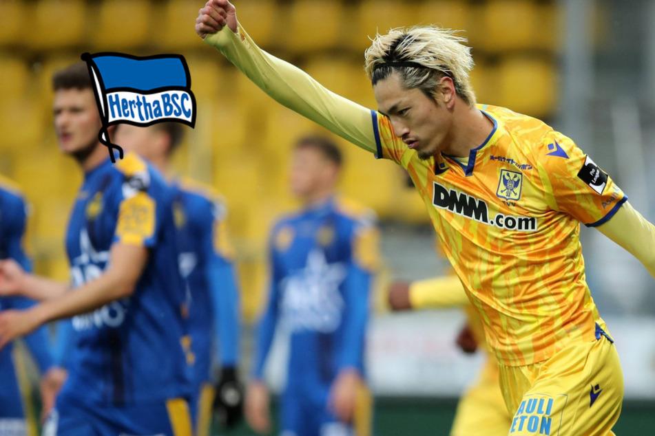 Leckie ohne Zukunft: Angelt sich Hertha diesen Japan-Knipser?
