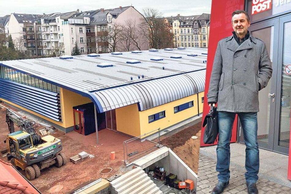 Schildbürger-Streich um neue Mini-Turnhalle