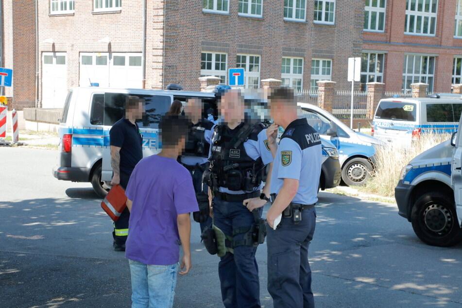 Auf der Elsasser Straße in Chemnitz kam es am Freitagnachmittag zu einer heftigen Auseinandersetzung.