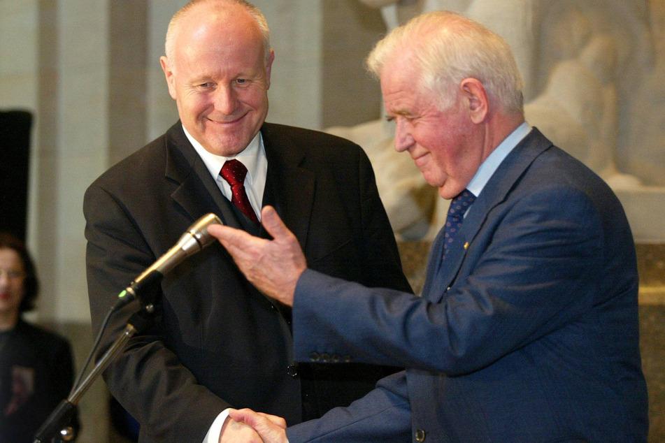 Ziemlich beste Feinde: Biko und Georg Milbradt (heute 73, CDU)