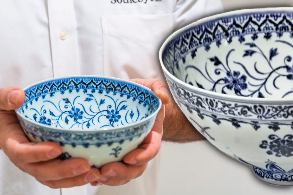 Man buys bowl for $35 and sells it for 20,000 times the price!