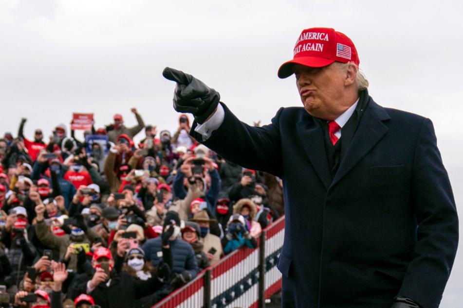 Er setzt immer noch einen drauf: So dreist will Trump die US-Wahl für sich entscheiden