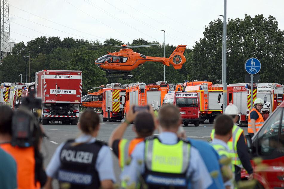 Für einen weiteren Menschen kam jede Hilfe zu spät. Nach der Explosion wurde das zweite Todesopfer entdeckt.