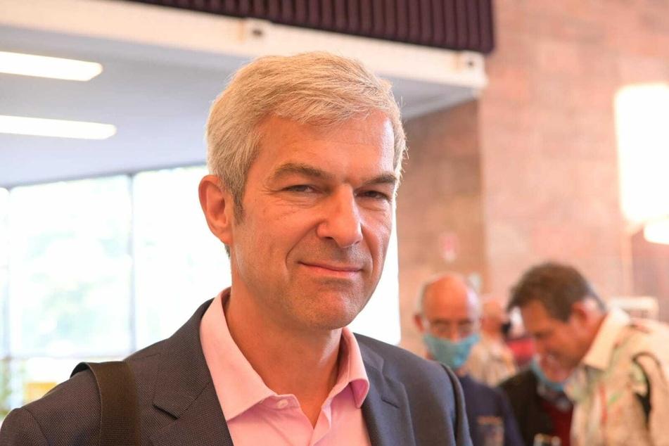 Volkmar Zschocke (51, Grüne) ist etwas enttäuscht über das Wahlergebnis.