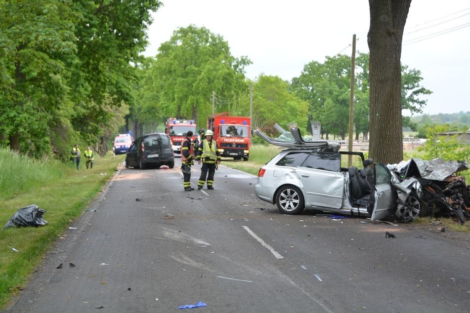 Im Landkreis Oberhavel kam es zu einem schweren Verkehrsunfall.