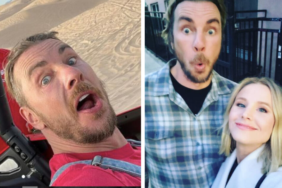 Dax Shepard shares naked photo of wife Kristen Bell on Instagram