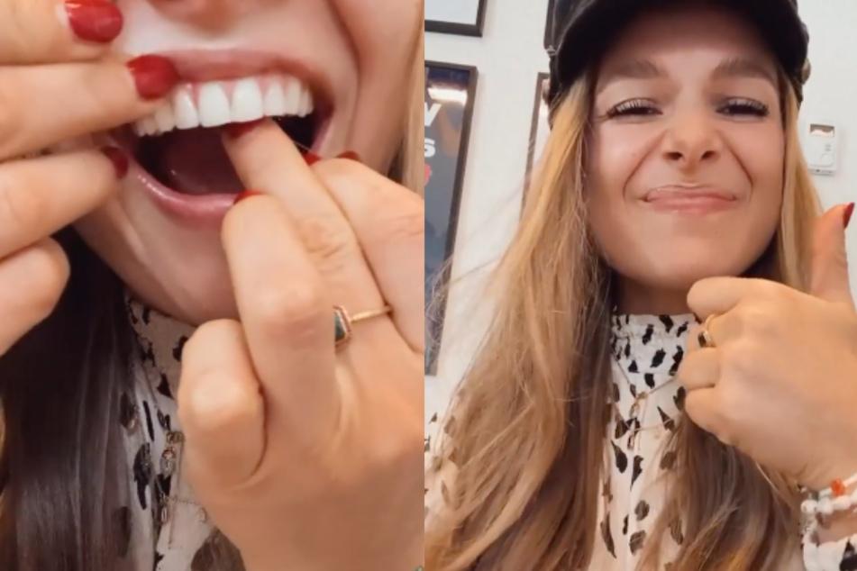 Lolas Lifehack: So bekommt man Essen zwischen den Zähnen ohne Zahnseide raus