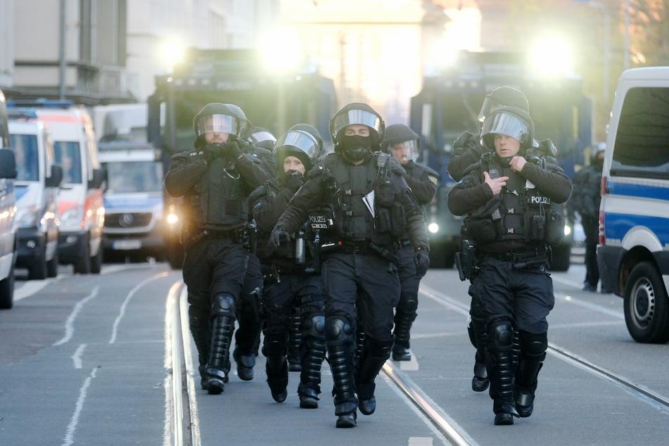 1600 Einsatzkräfte aus sechs Bundesländern waren im Einsatz.
