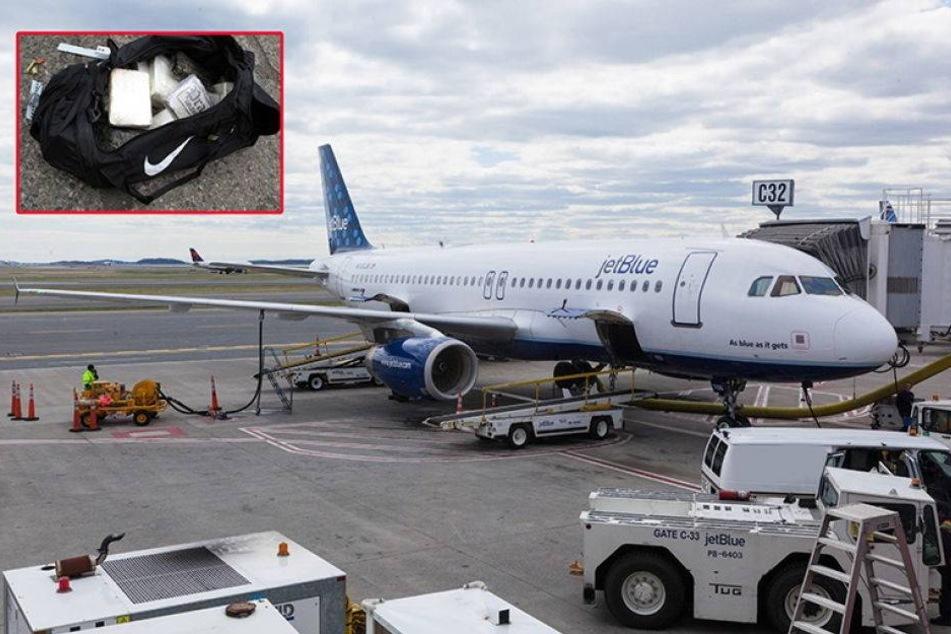 32 Kilo Kokain im Handgepäck: Stewardess flüchtet barfuß