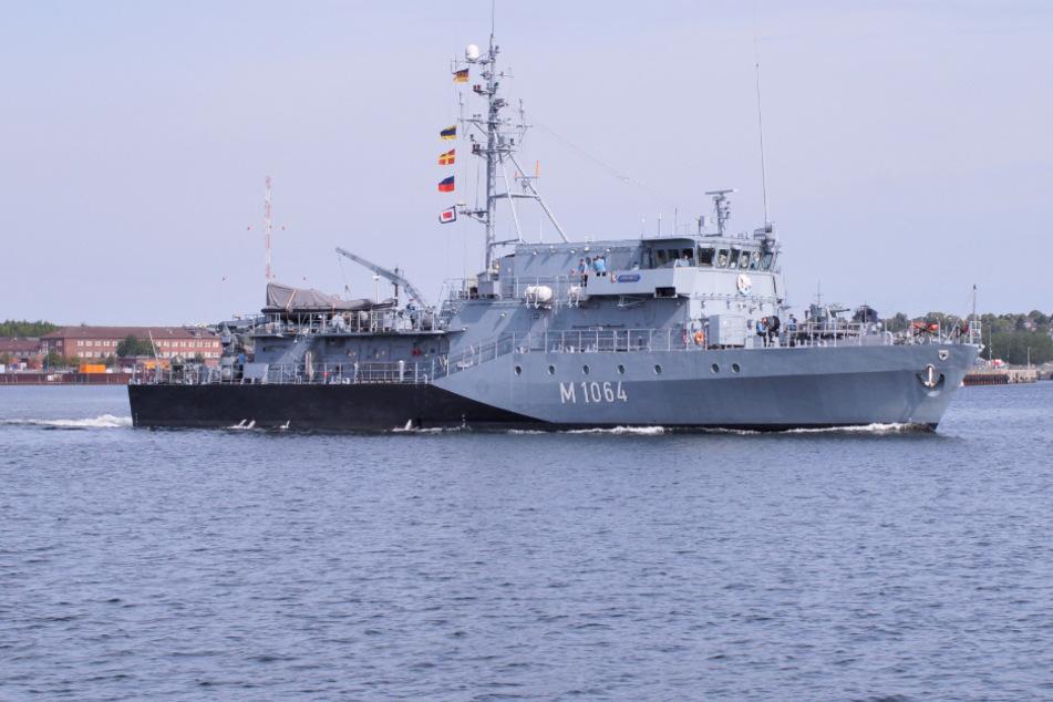"""Kriegsschiff """"Grömitz"""" startet nach Quarantäne zu NATO-Einsatz"""