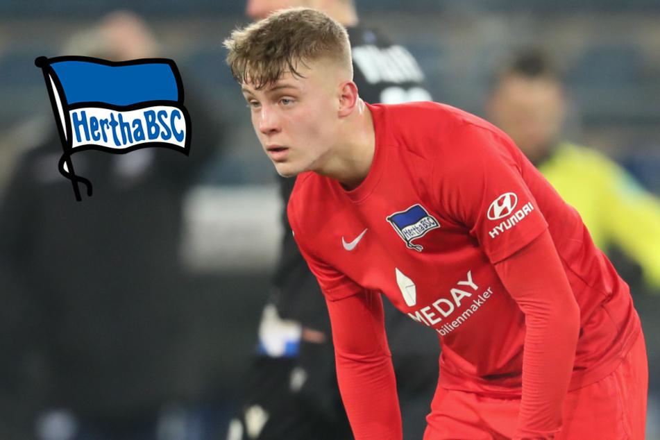 Hertha droht Verlust von Top-Talent: Geht Luca Netz zu den Bayern?