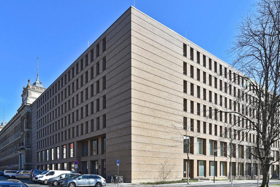 Das Dresdner Amtsgericht.
