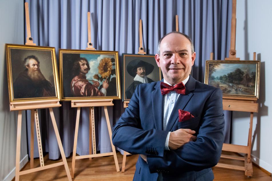 Verschollen geglaubte Gemälde harren noch ihrer Restaurierung