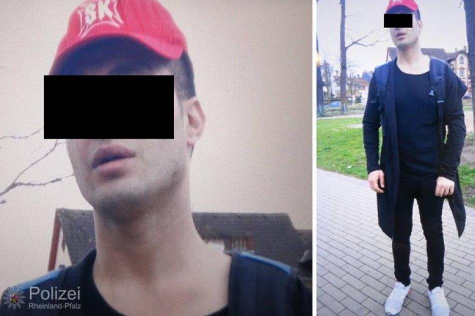 Diese Fahndungsfotos veröffentlichte die Polizei.