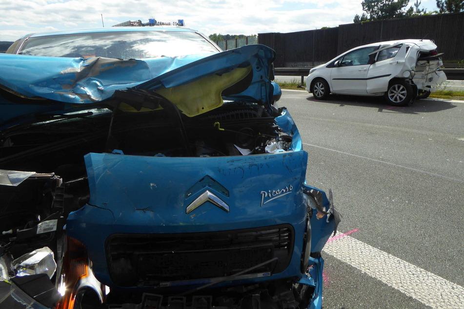 Die Fahrerin des Toyotas wurde schwer verletzt und kam ins Krankenhaus.