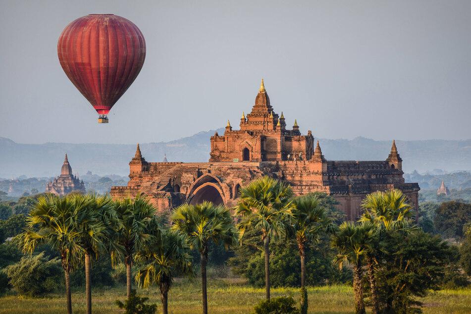 Mystisches Myanmar: Ein Chemnitzer Urlauber hängt dort fest - wegen Corona.