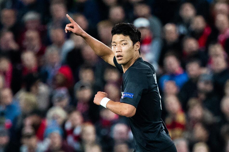 Hee-chan Hwang (24) wechselt von Salzburg nach Leipzig.