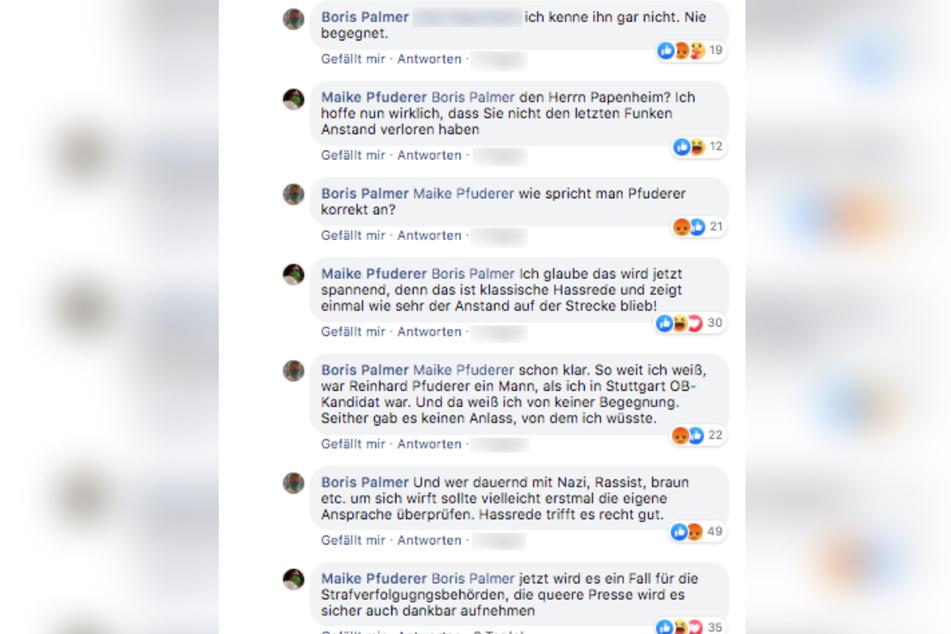 """""""Ich kenne ihn gar nicht"""" - Und schon ging es in den Facebook-Kommentaren rund."""